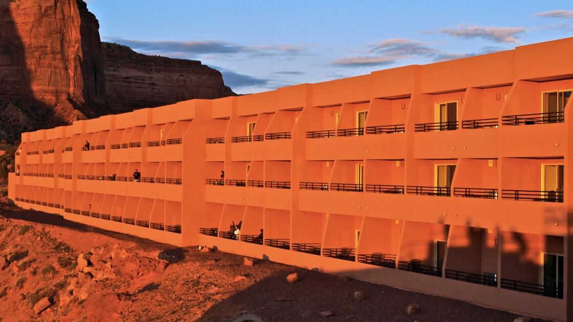 Etats-Unis : un hôtel navajo à Monument Valley