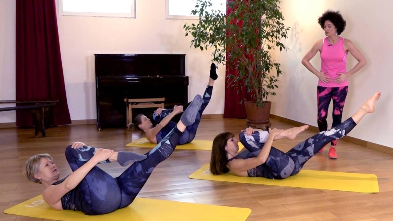 Cinq exercices de Pilates pour le bien-être de votre dos