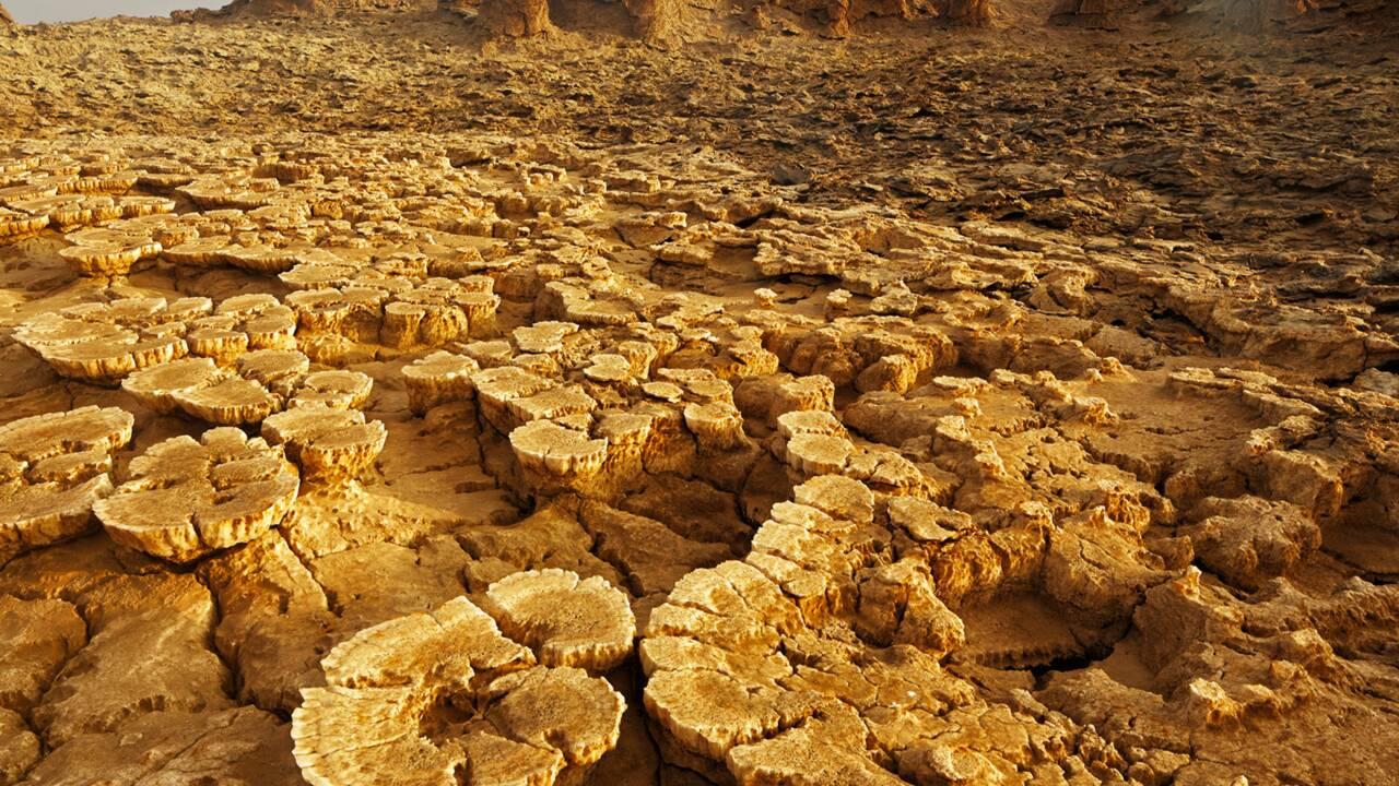 VIDÉO - Le Dallol, un site volcanique unique en Ethiopie