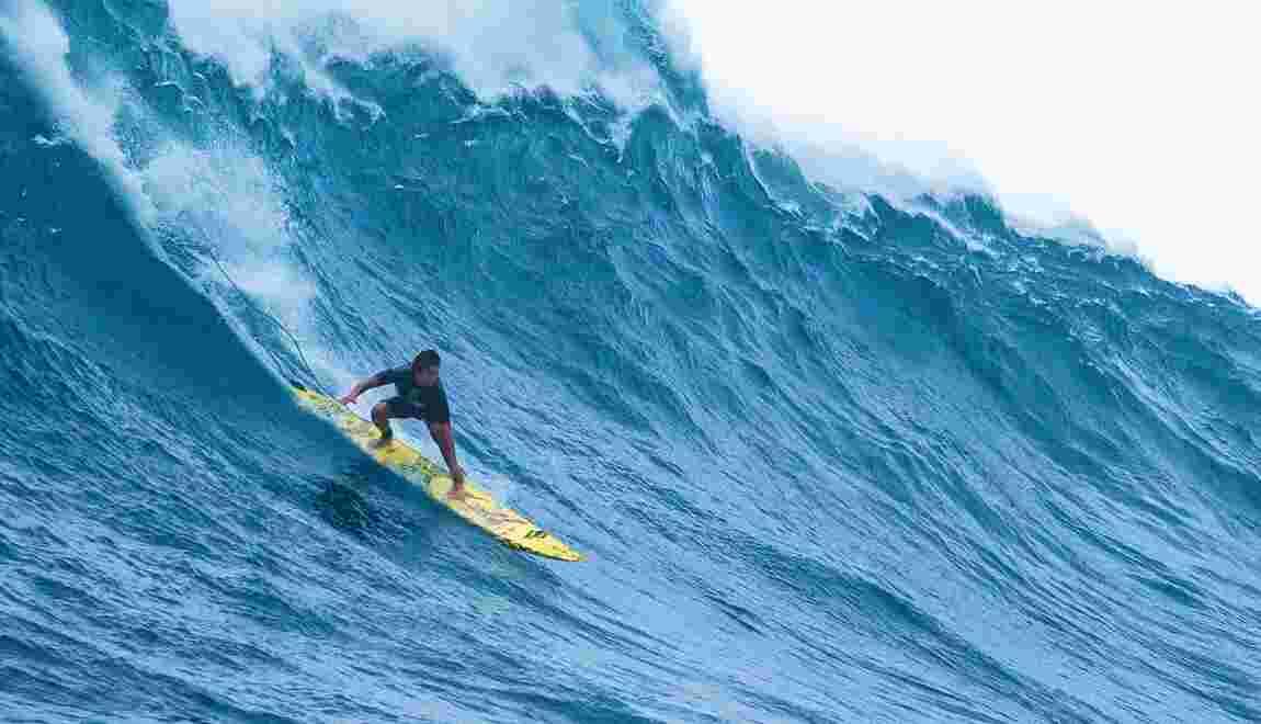 Surf : la vague Jaws décryptée par le champion de stand up paddle Kai Lenny