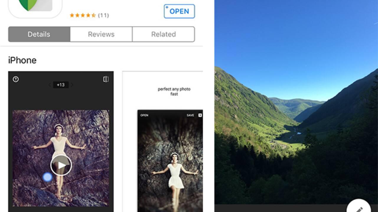 Retouche photo et vidéo : les applis à télécharger avant de partir à l'aventure