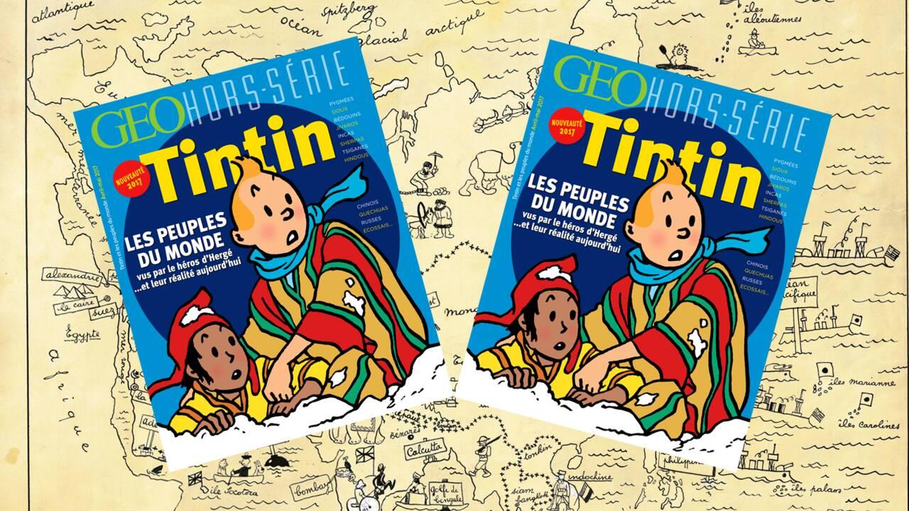 Tintin et les peuples du monde dans le nouveau hors-série GEO