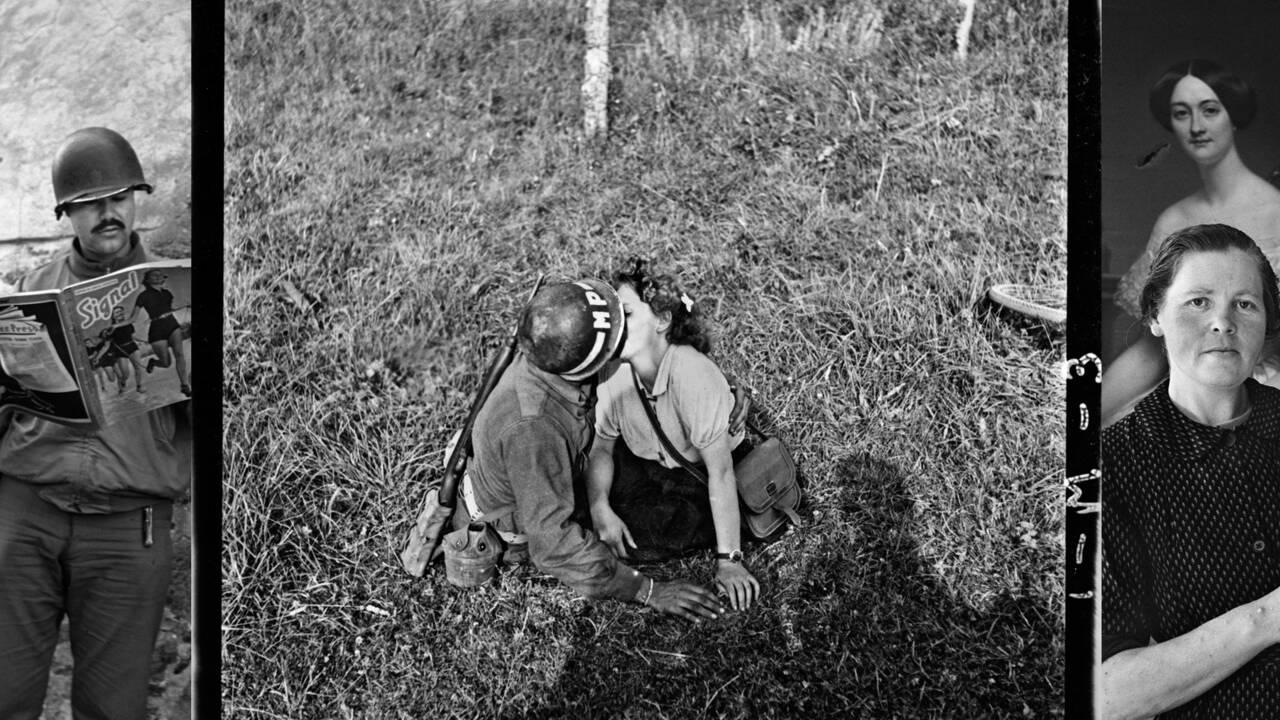 PHOTOS - John G. Morris : été 1944, les premiers instants de liberté