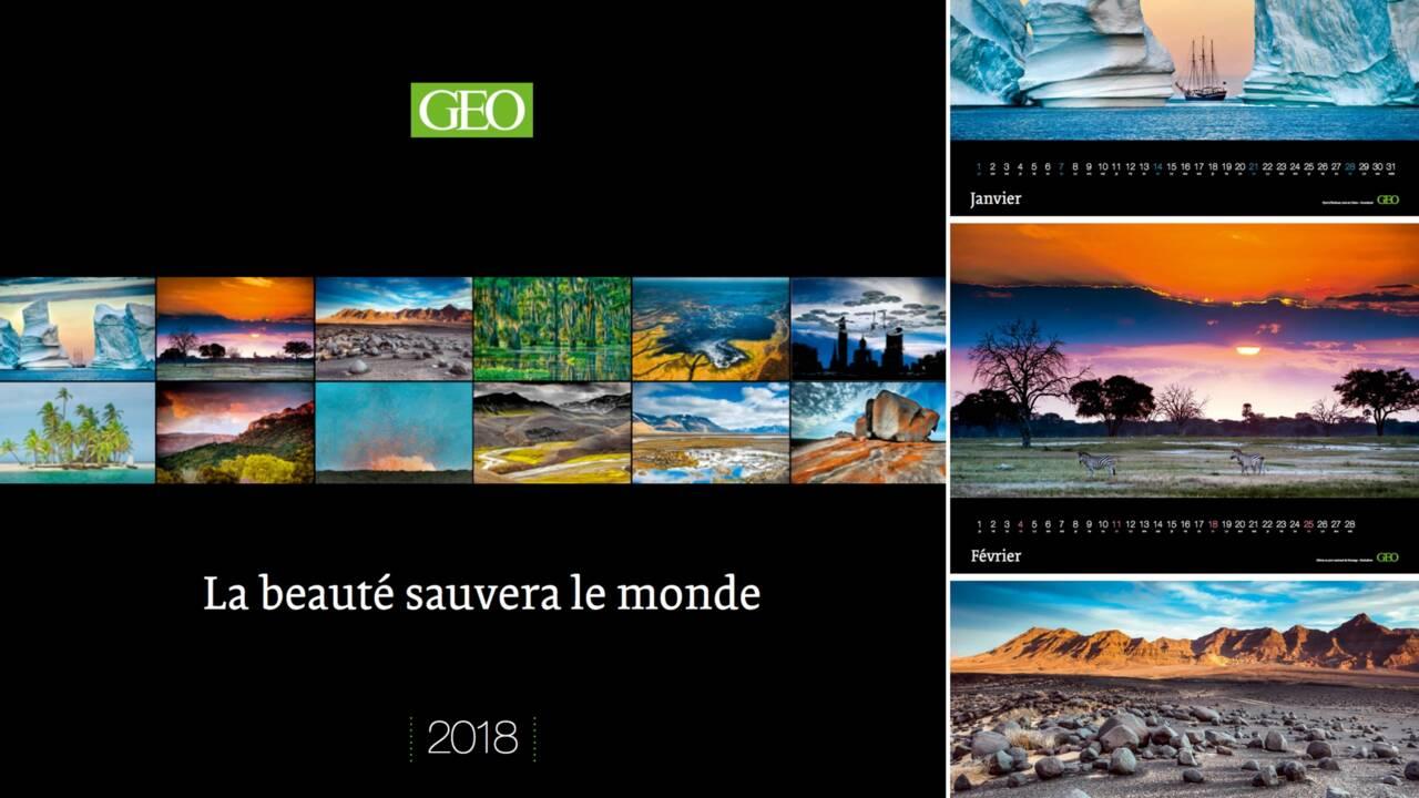Un hymne à la Terre dans notre grand calendrier GEO 2018