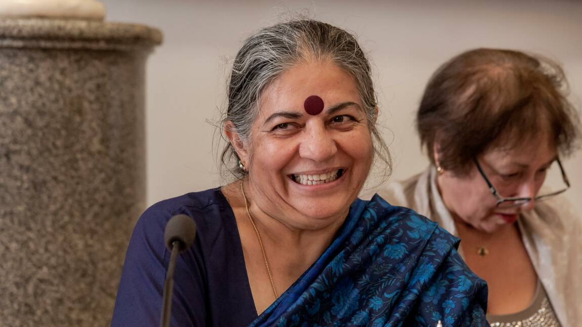"""Vandana Shiva : """"J'en appelle à la désobéissance créatrice"""""""