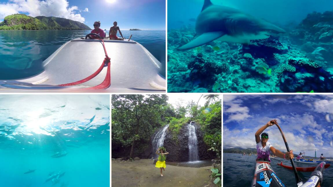 VIDÉO 360° - Tahiti, entre terre et mer
