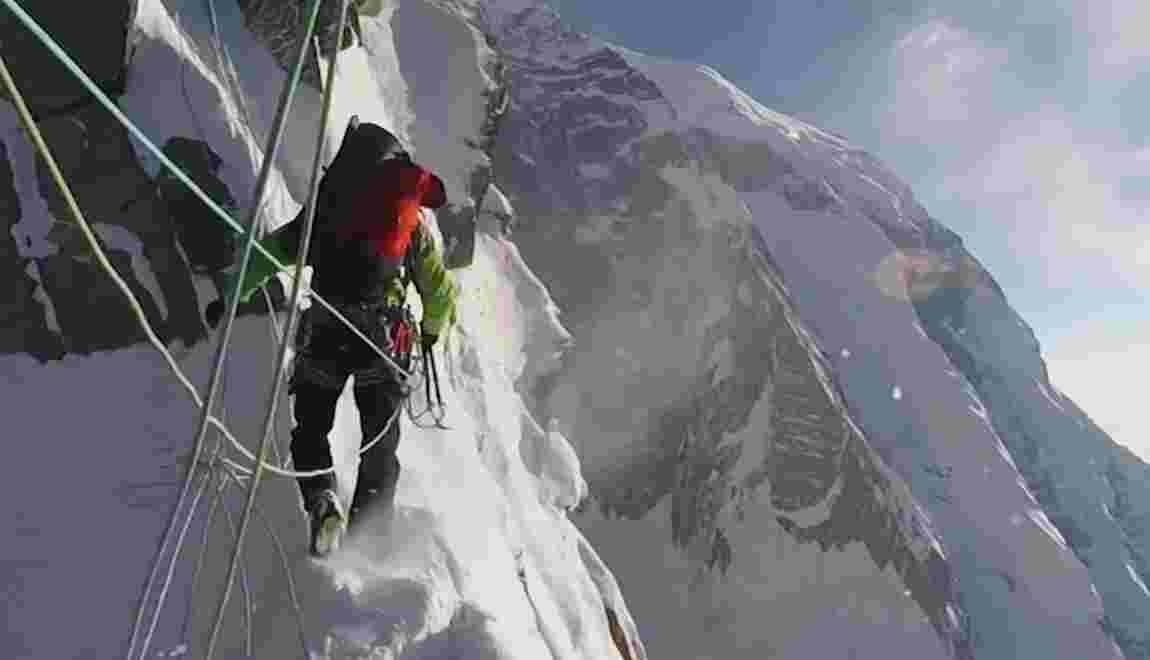 VIDÉO - Le défi insensé de trois alpinistes face à l'Annapurna III, au Népal