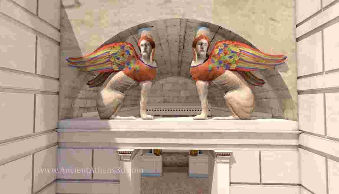 VIDÉO - Grèce : visite en 3D du mystérieux tombeau d'Amphipolis