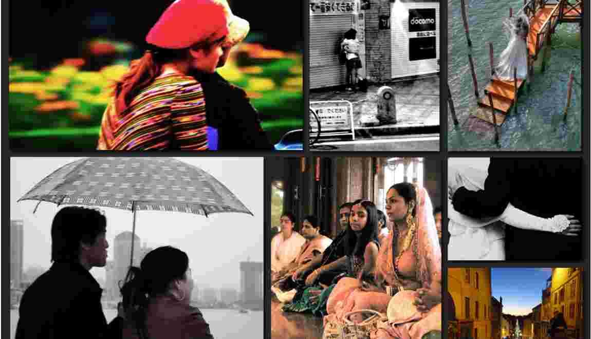 Déposez vos plus belles photos sur le thème : l'Amour autour du monde