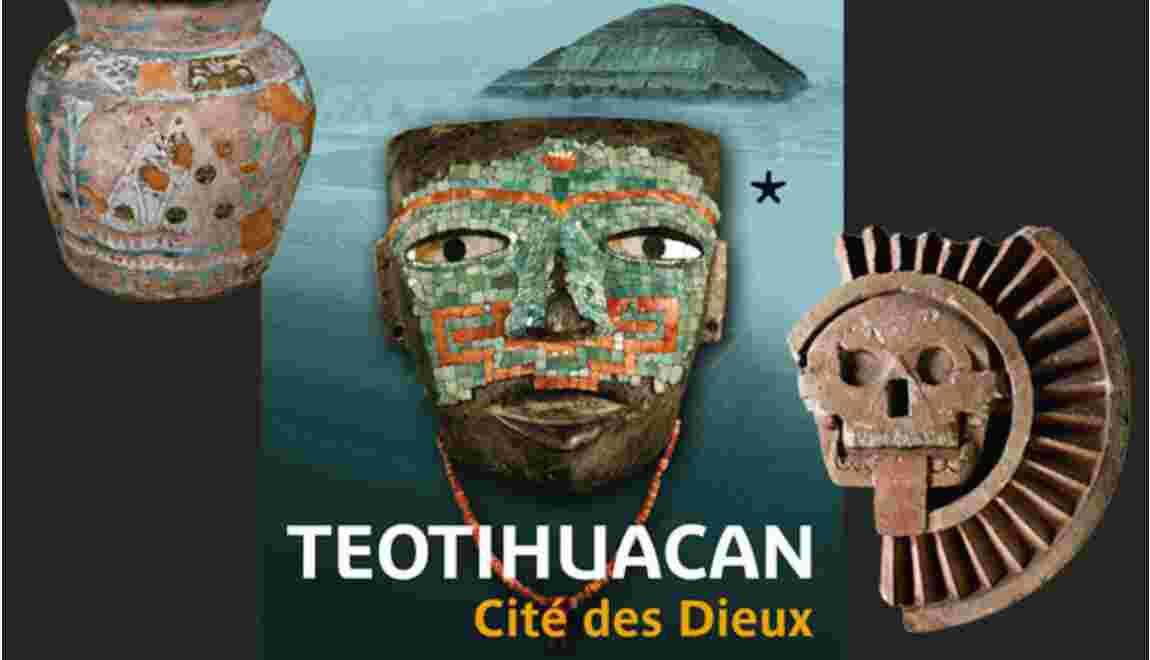 Exposition Teotihuacan avec GEO au musée de Quai Branly