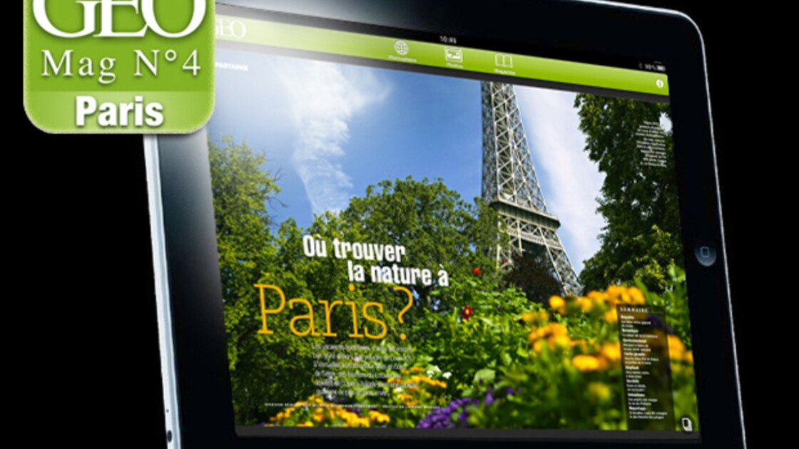 GEO IPad N°4 (Paris)