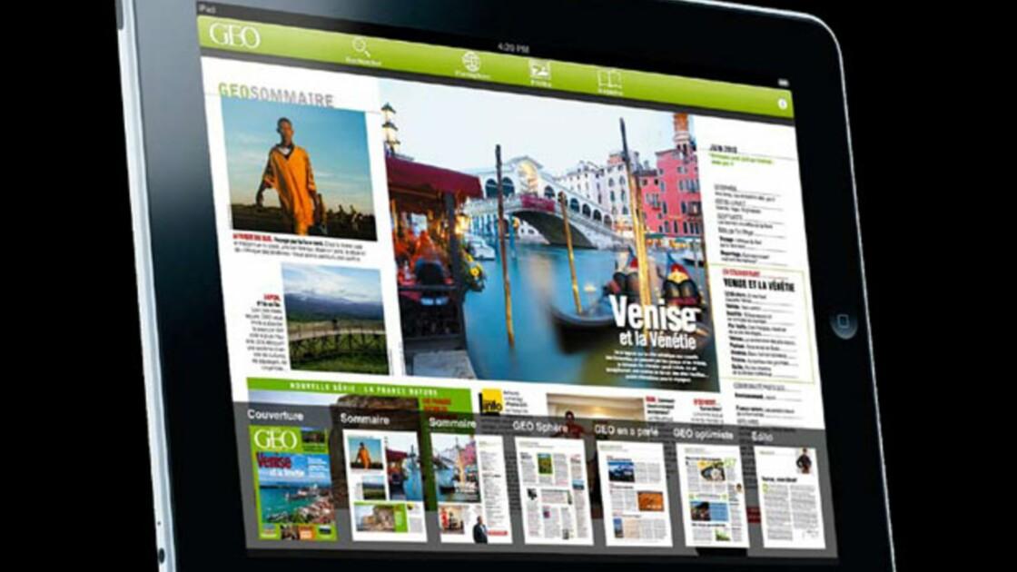 NOUVEAU : Votre magazine GEO sur l'iPad