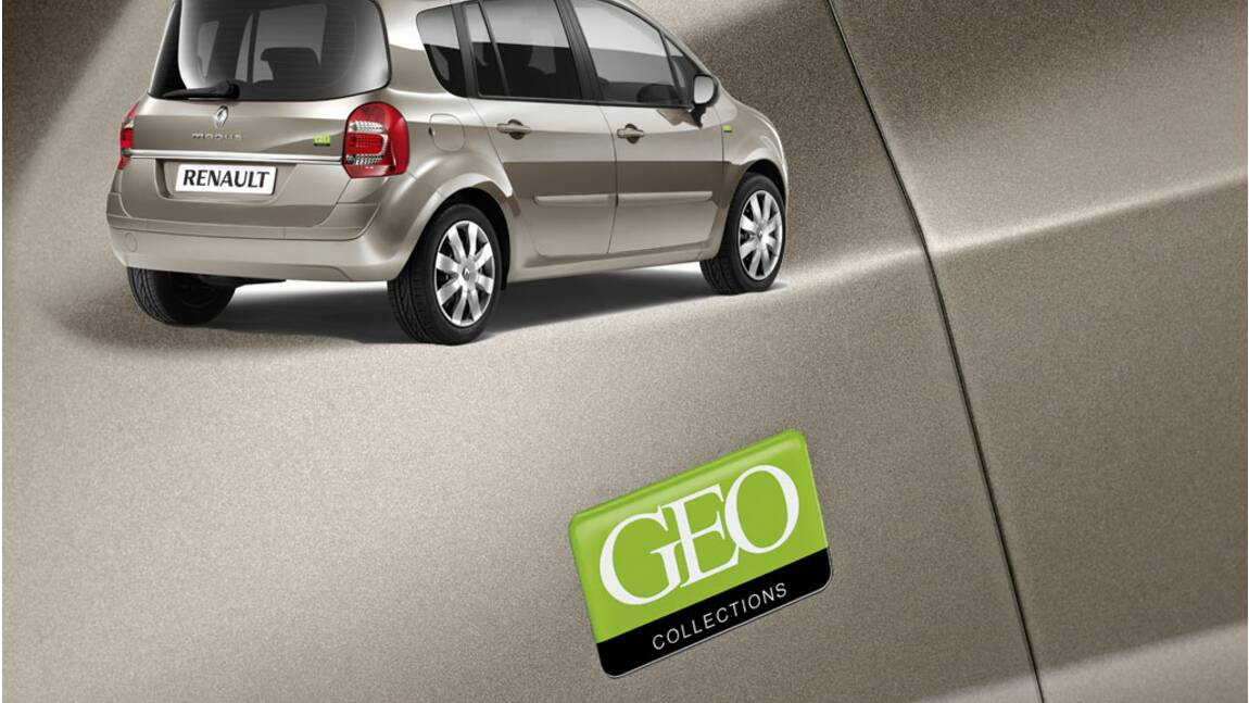 Avec GEO, Renault lance une série limitée Grand Modus GEO Collections