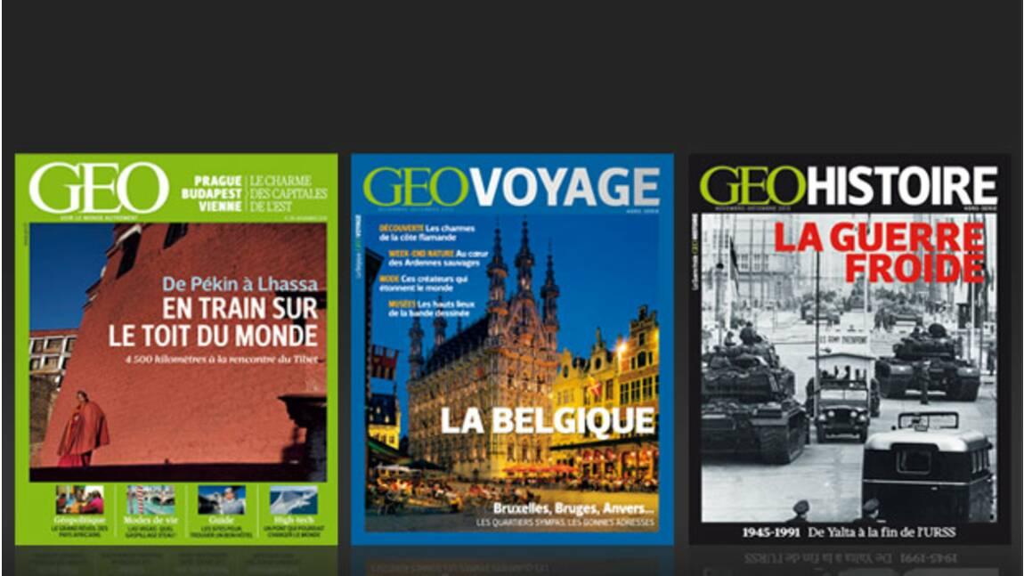 Découvrez les nouveaux magazines GEO