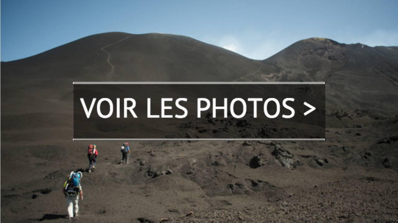 PHOTOS – Expédition au sommet de l'Etna