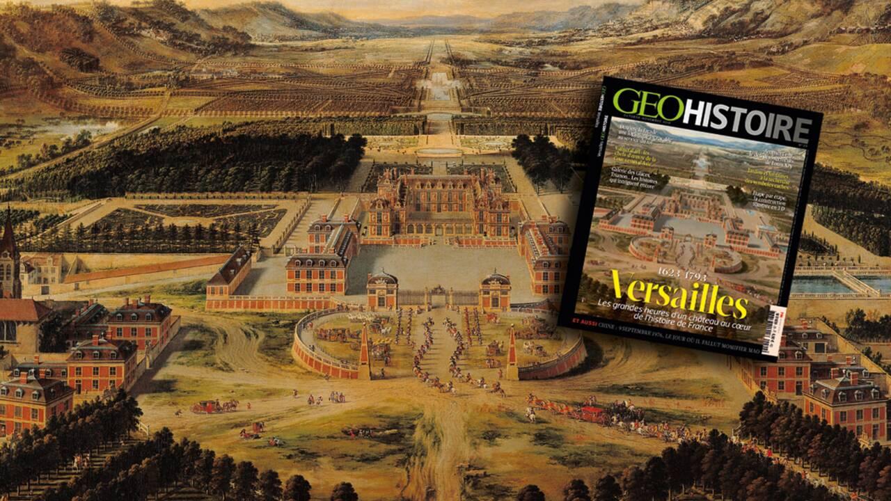 Versailles dans le nouveau magazine GEO Histoire