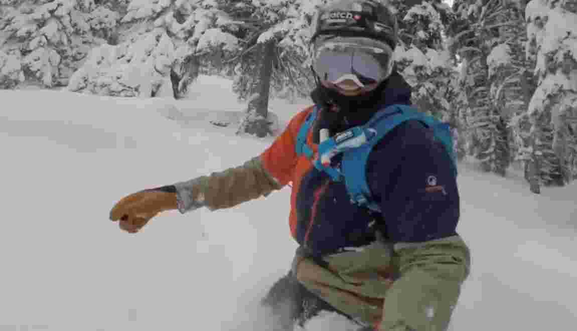 Préparer un ride en montagne : l'appli conseillée par Xavier de Le Rue