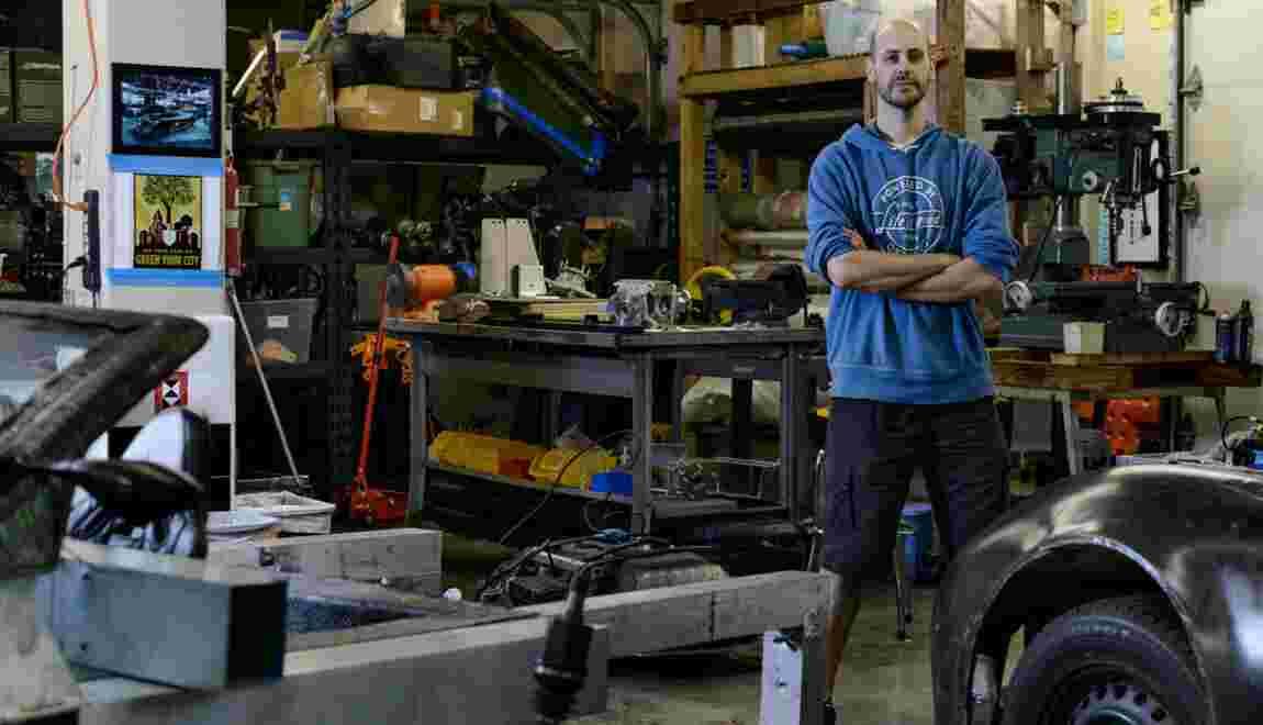 VIDÉO : Joe Justice, créateur de voitures sobres en énergie