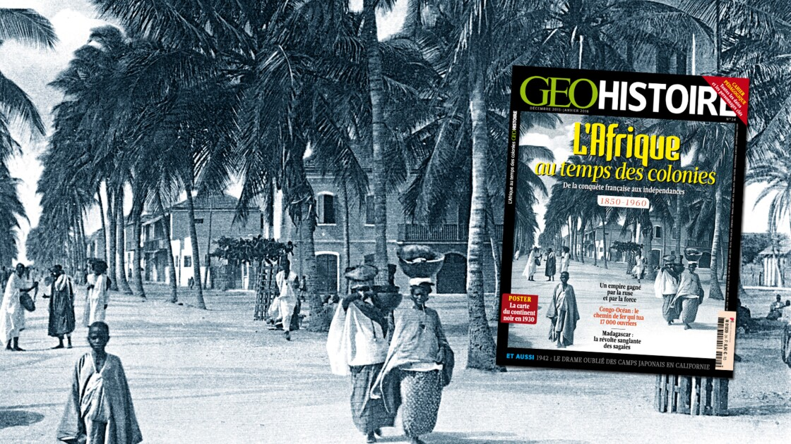 L'Afrique au temps des colonies, dans GEO Histoire n°24 (déc. 2015 - jan. 2016)
