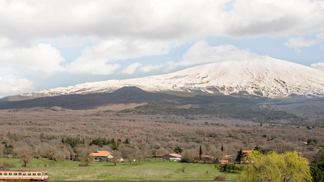 En Sicile, sous le volcan exactement