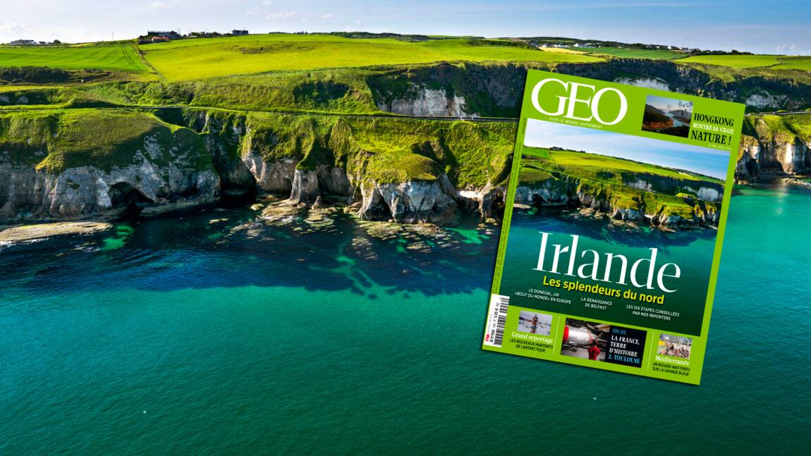 L'Irlande et les splendeurs du Nord dans le magazine GEO d'avril 2016
