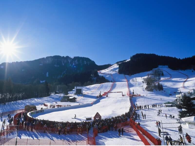 Autriche : le Hahnenkamm, un mythe du ski alpin