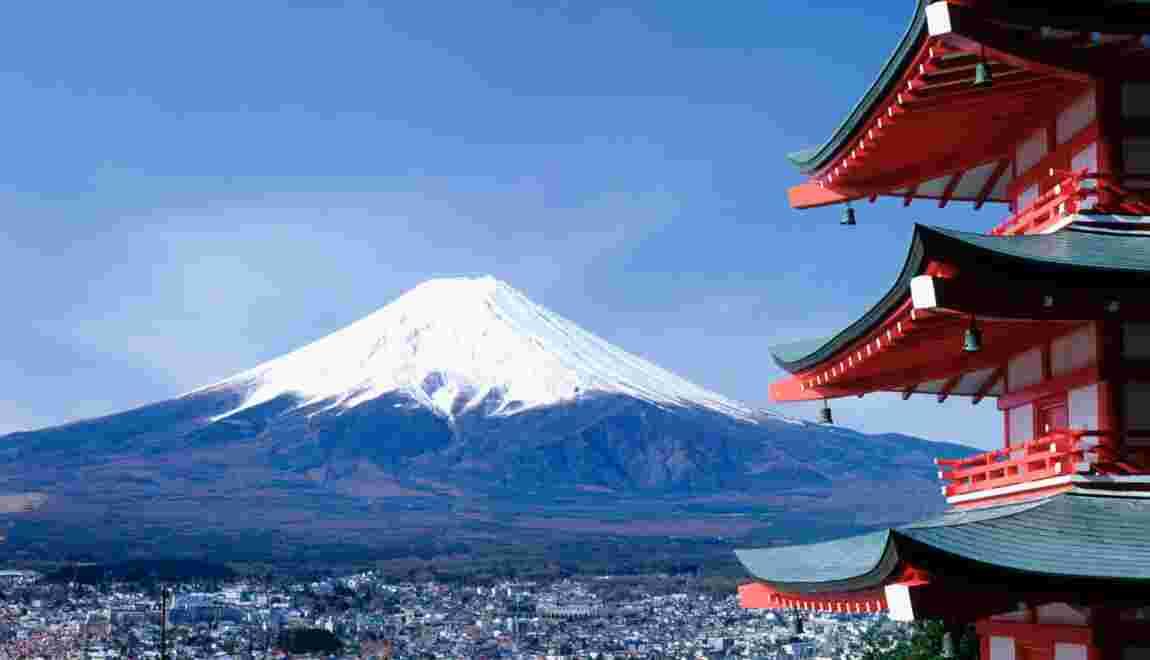 Le Mont Fuji Montagne Sacree Au Japon