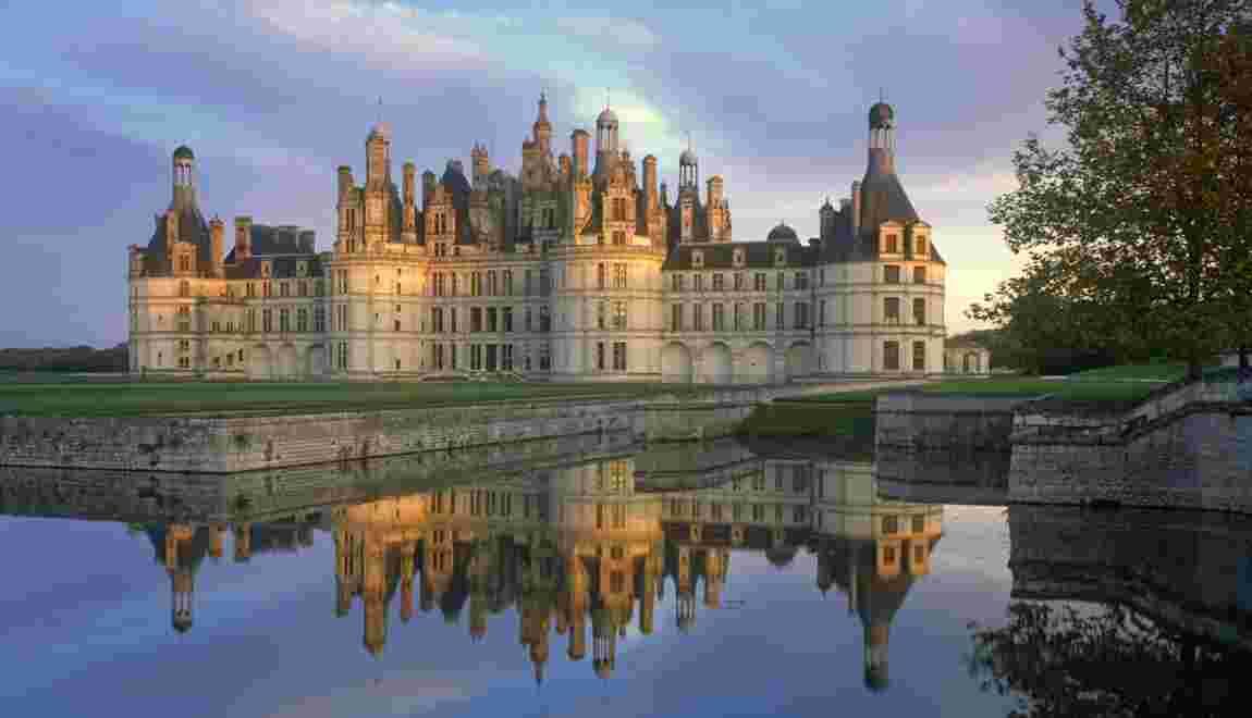 Les châteaux de la Loire, un itinéraire au fil de l'eau