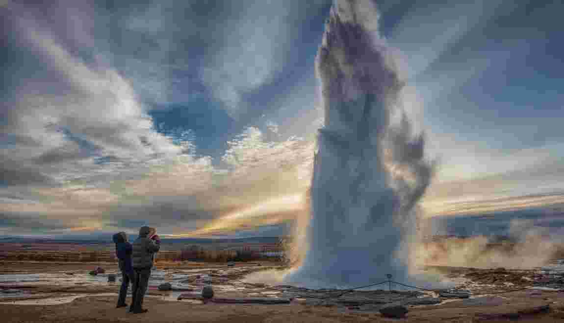 En Islande, le feu sous la glace