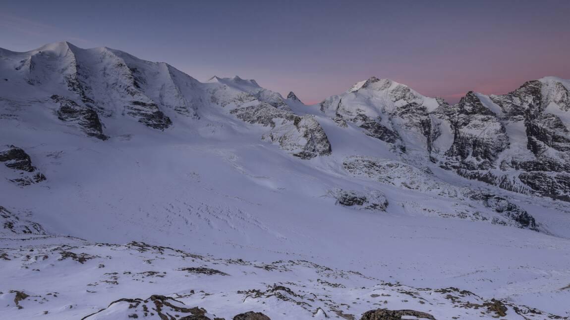 La Diavolezza, plus longue descente sur glacier de Suisse