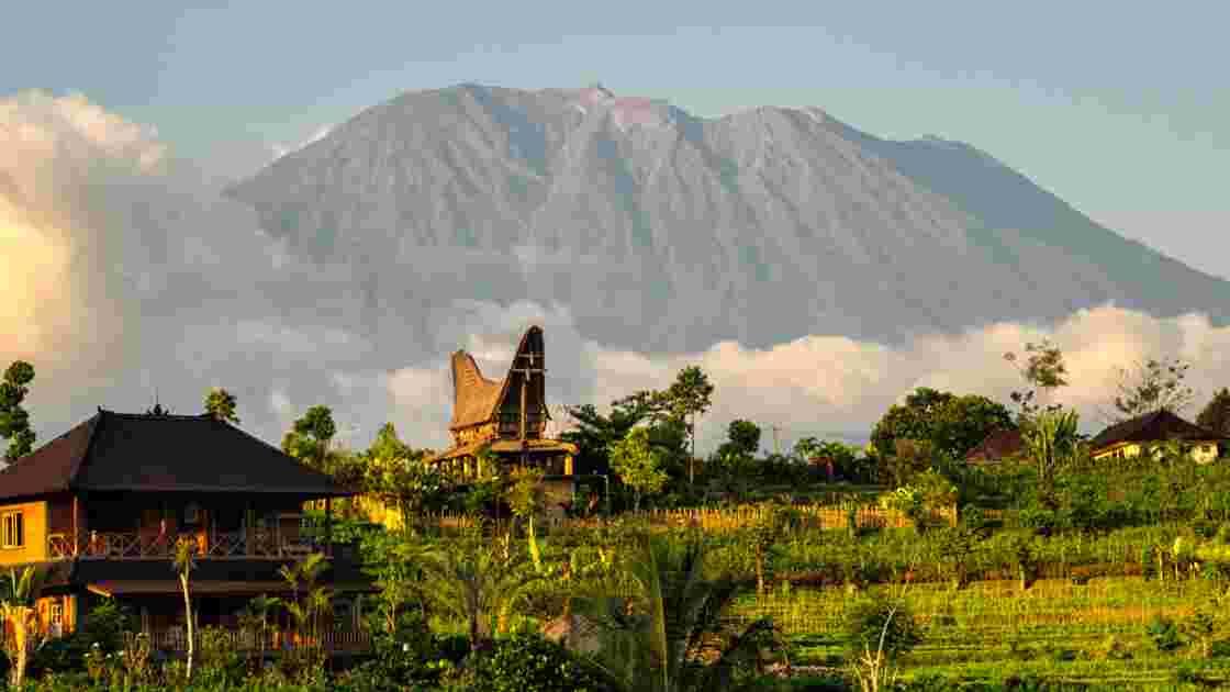Bali : le mont Agung, montagne sacrée