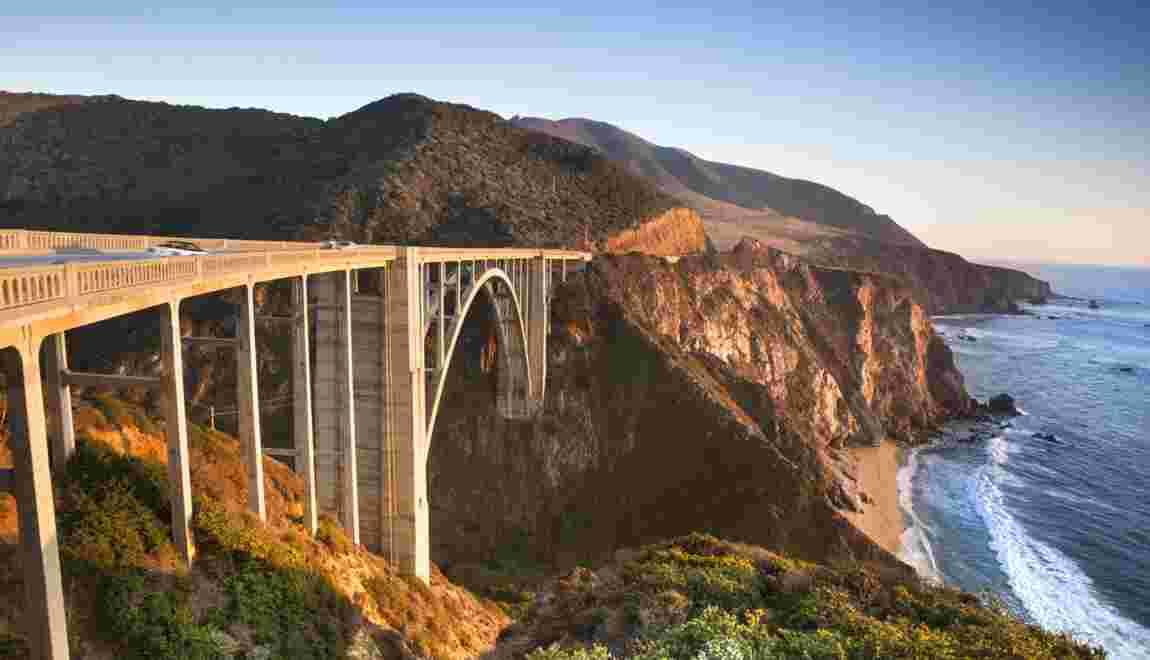 La Californie, on the road again, again