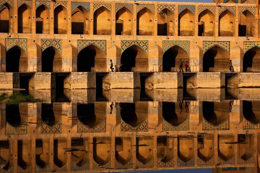 Ispahan a été conçue comme un reflet du paradis