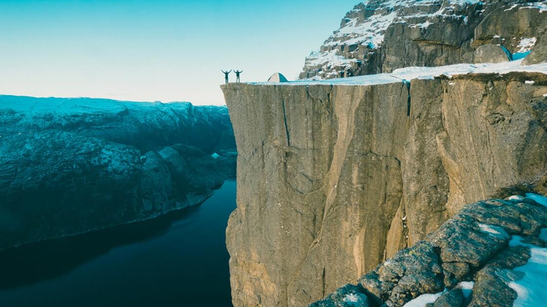 VIDÉO : En Norvège, une nuit au bout du monde