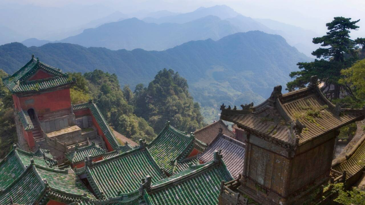 Chine : les Monts Wudang, berceau du taoïsme