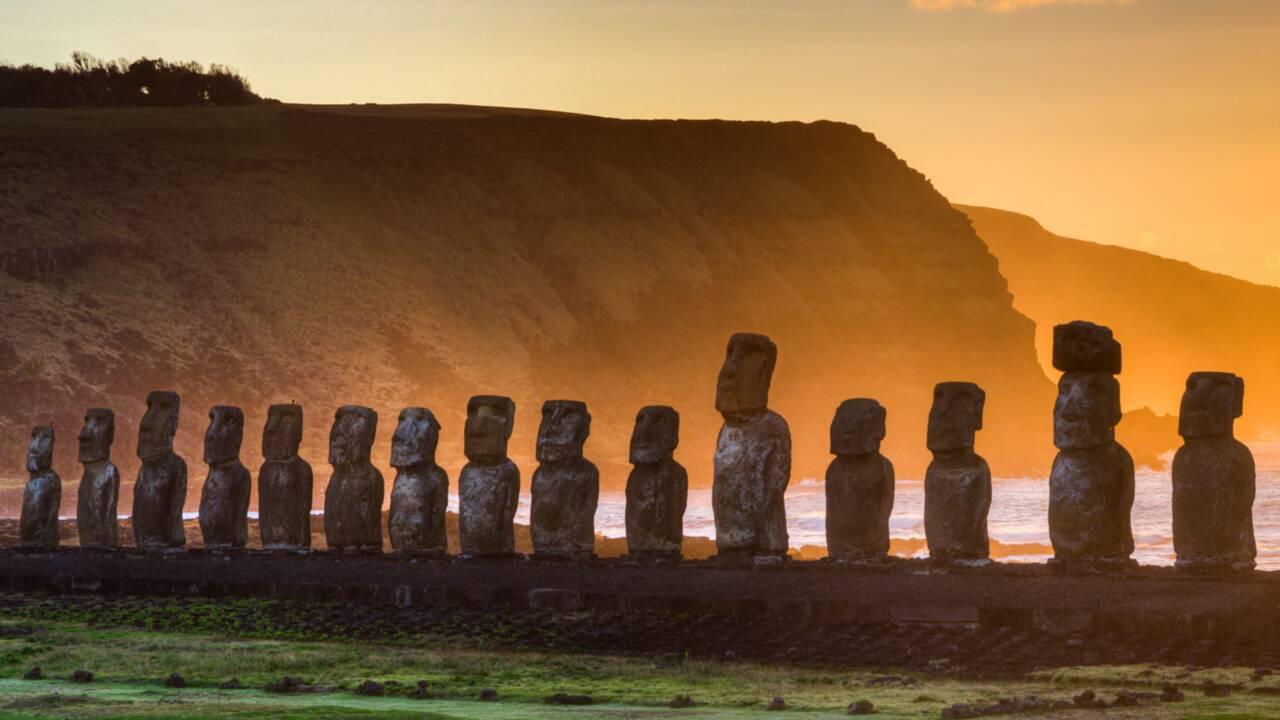 Le mystère des géants de l'île de Pâques