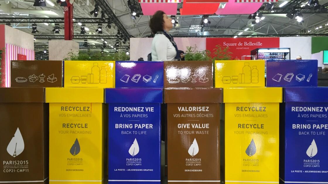 """Déchets : objectif """"exemplarité"""" au Bourget pour la COP21"""