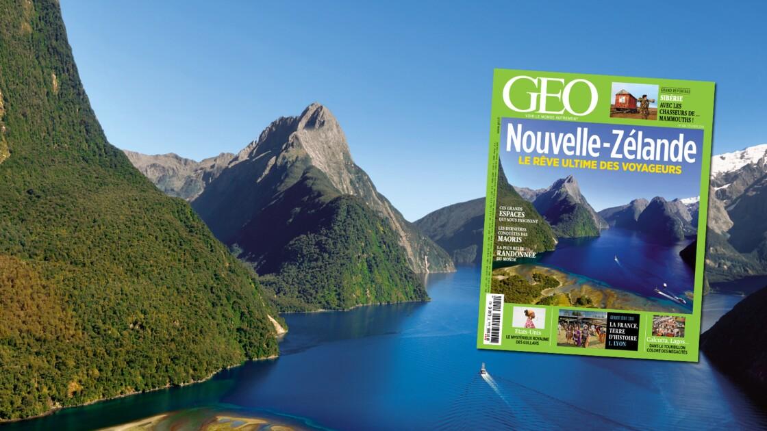 La Nouvelle-Zélande dans le magazine GEO de février 2016