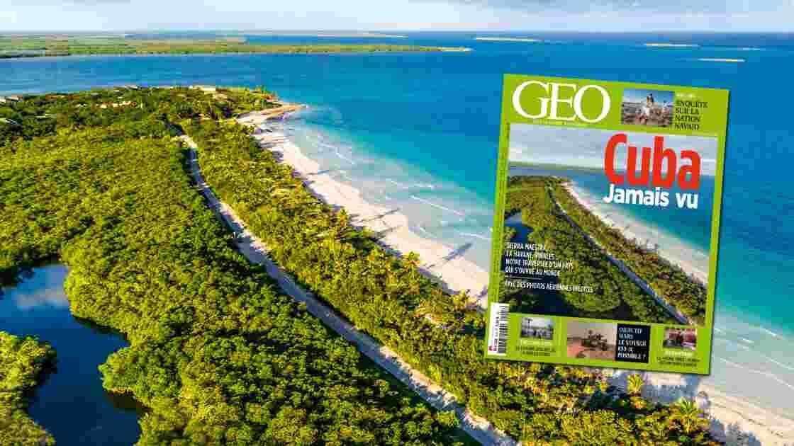 Magazine GEO janvier 2016 - Cuba