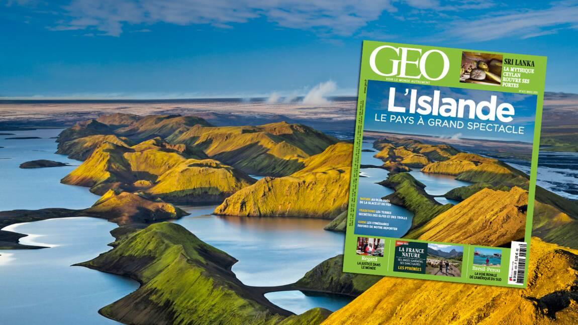 Magazine GEO spécial Islande (n°433, mars 2015)