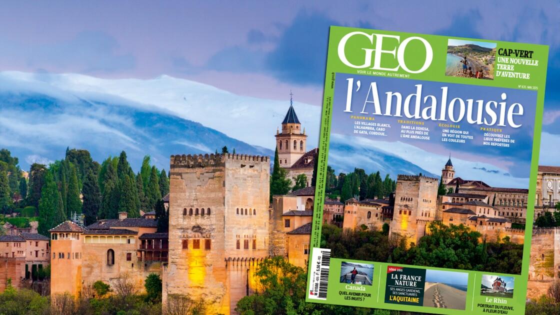 Magazine GEO spécial Andalousie (n°435, mai 2015)