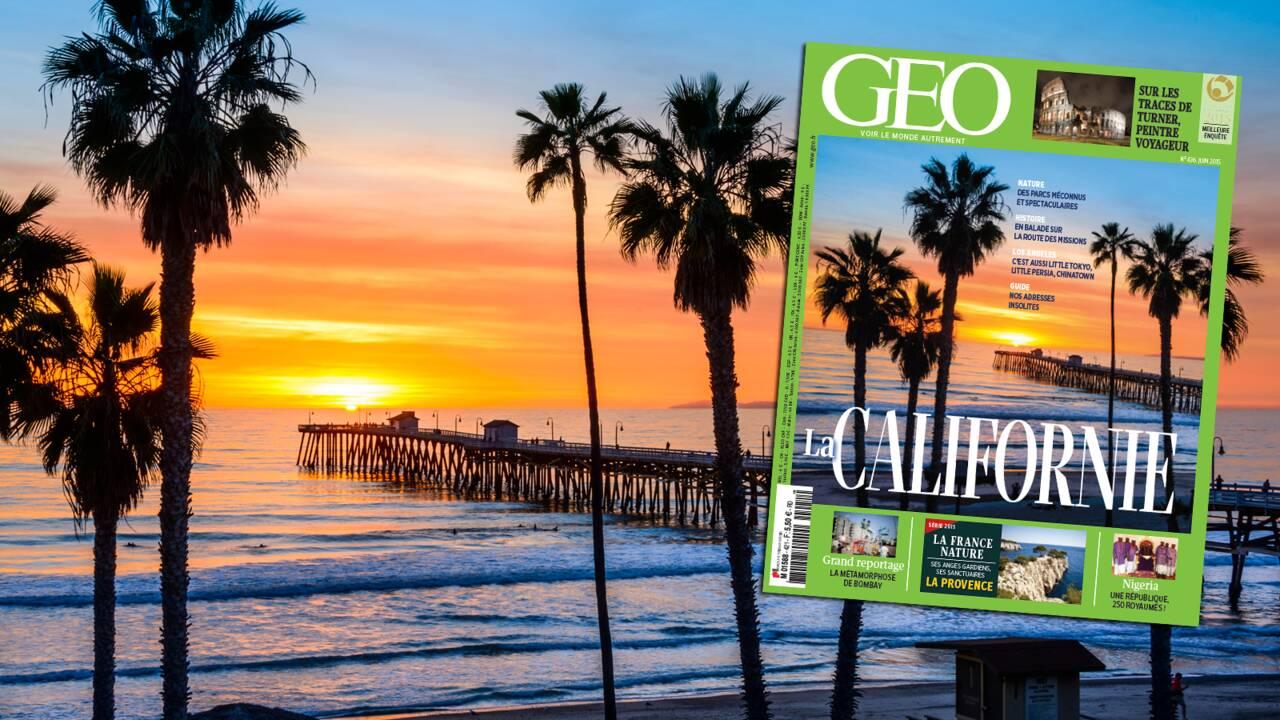 Magazine GEO spécial Californie (n°436 - juin 2015)
