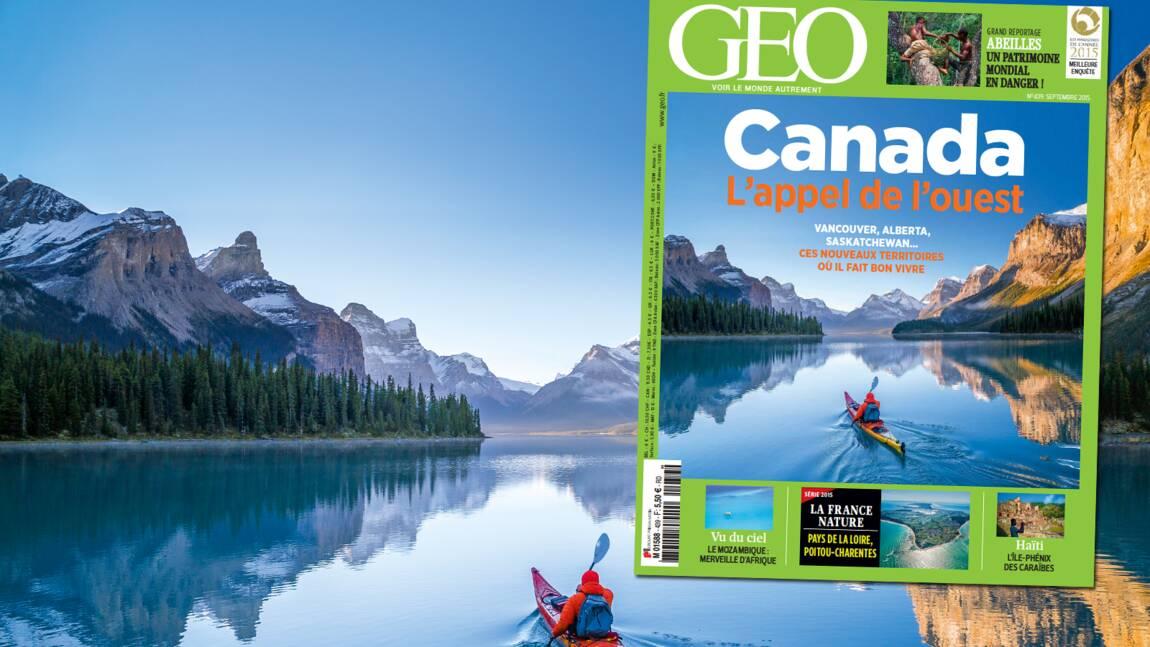 Magazine GEO spécial Canada (n°439, septembre 2015)