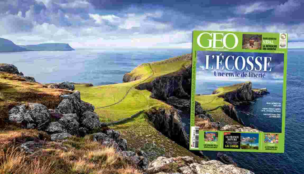 Magazine GEO spécial Ecosse (n°438 - août 2015)