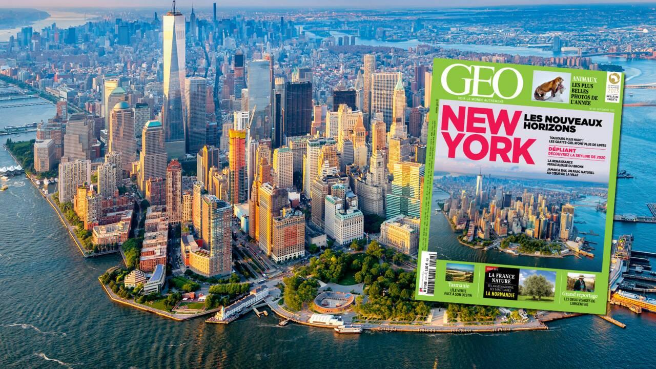 Magazine GEO spécial New York (n°441, novembre 2015)