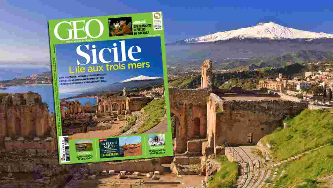 Magazine GEO spécial Sicile (n°437 - juillet 2015)