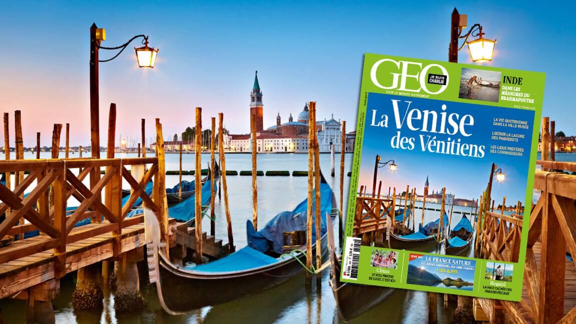 Magazine GEO spécial Venise (n°432, février 2015)