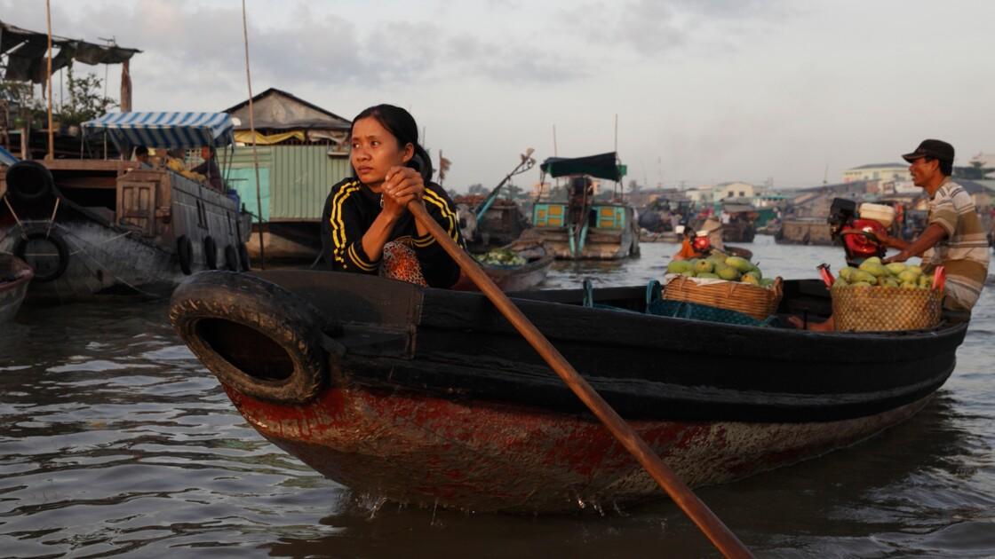 VIDÉO : Au Vietnam, la lutte contre le fléau du sel dans le delta du Mékong