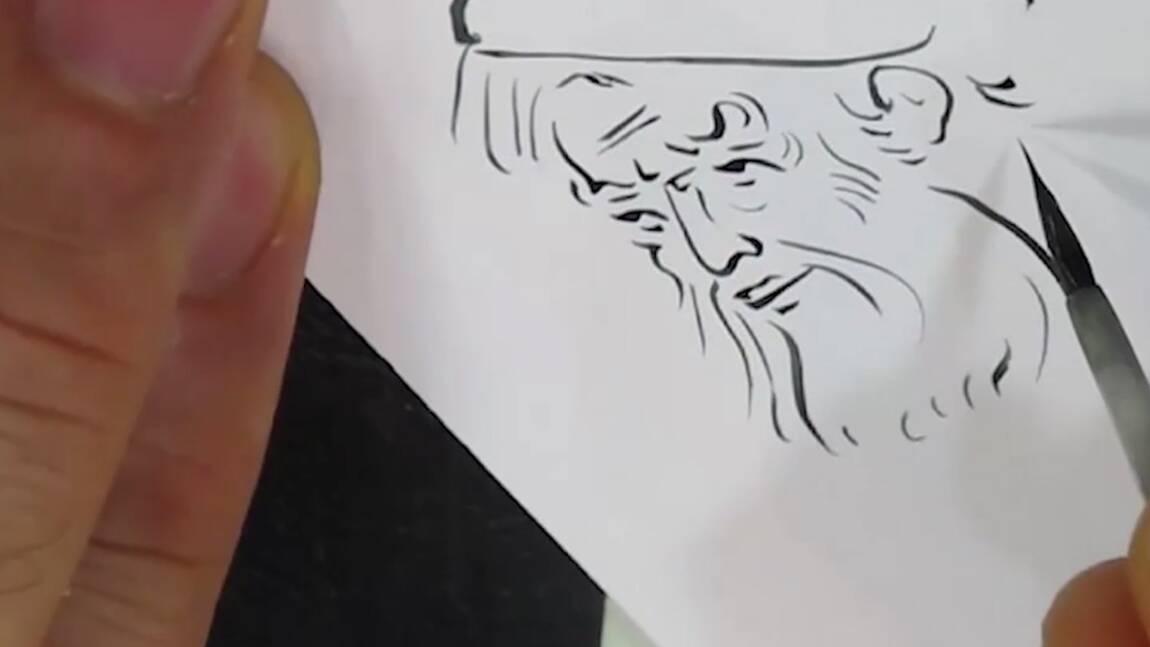 VIDÉO : L'art de la miniature persane (Making-of Iran 2/4)