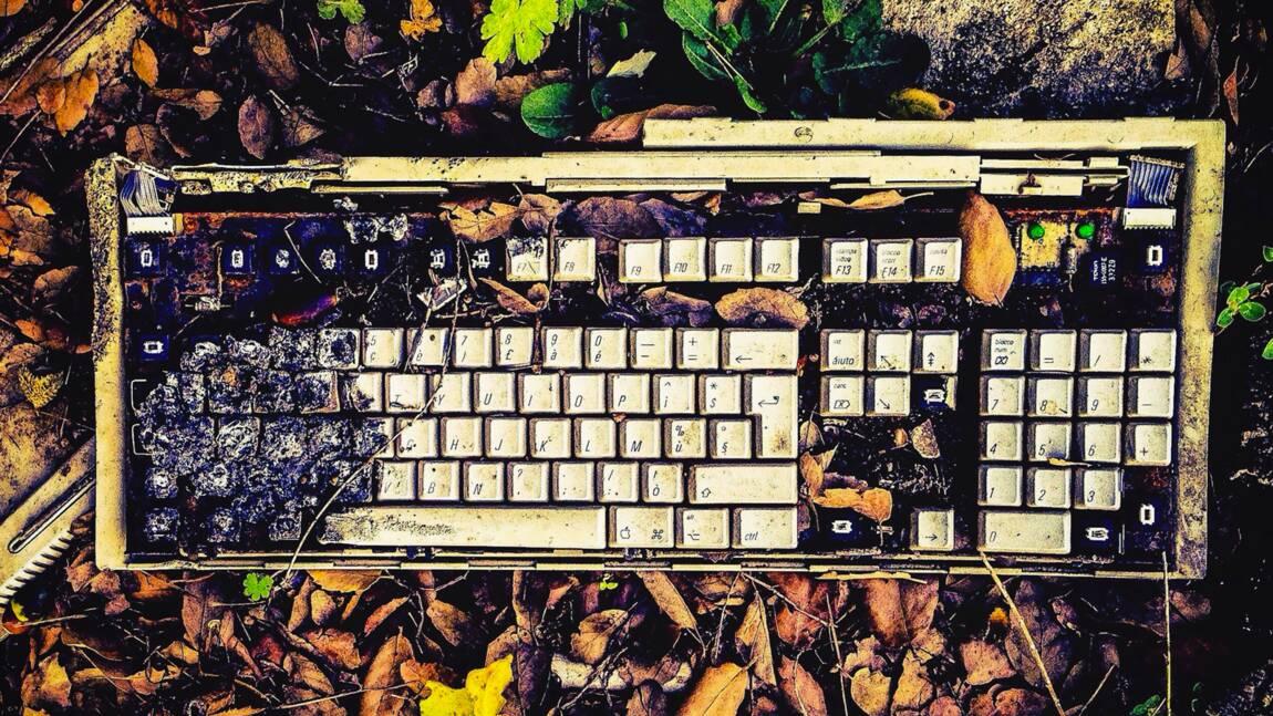 Le poids des déchets électroniques